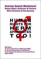 'Human Rights For Hermaphrodites, Too!' - 2015 CRPD NGO Report