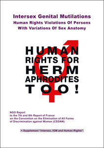2016 CEDAW France NGO Intersex IGM