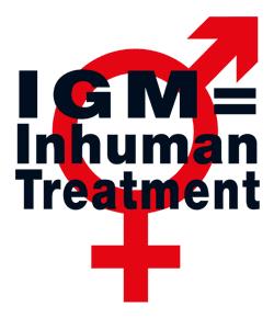 STOP Intersex Genital Mutilations in Children's Clinics!